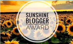 Sunshine Blogger Award#2