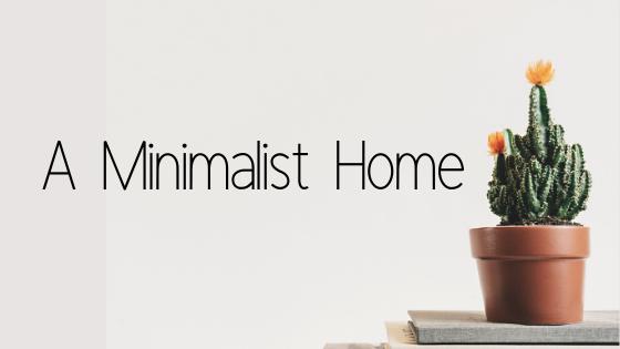 A Minimalist Home