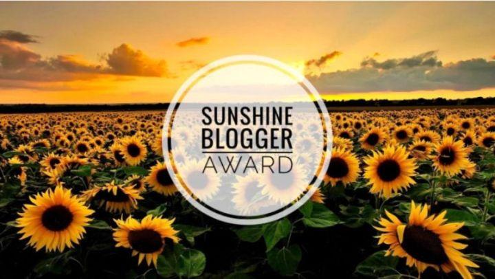 Sunshine Blogger Award#4