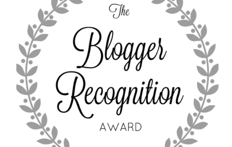 Blogger Recognition Award #3
