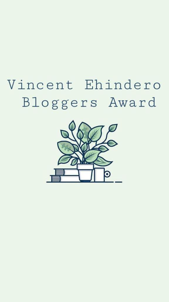 Vincent Ehindero BloggersAward