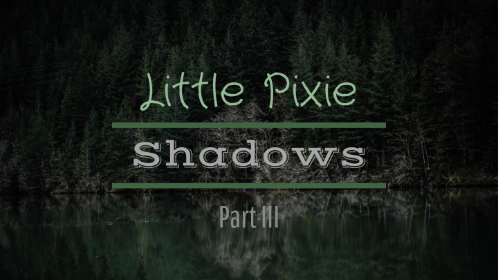 Little Pixie ~ Shadows (Part III)