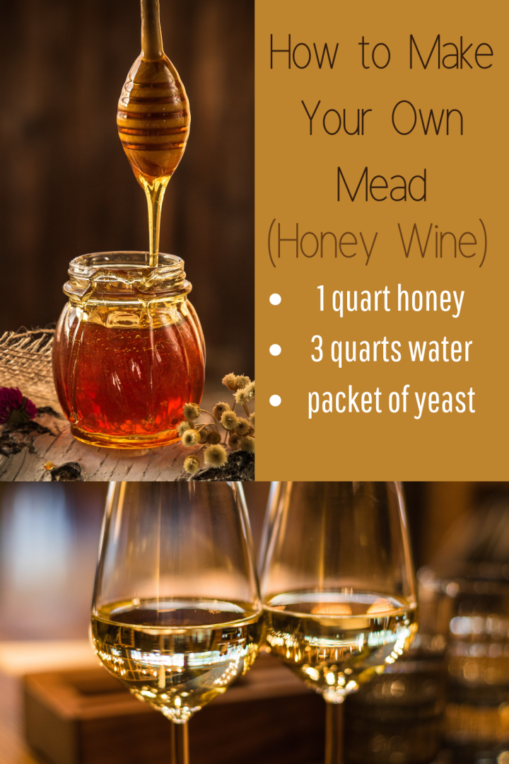 Try-it Tuesday ~ Mead (Honey Wine) Recipe