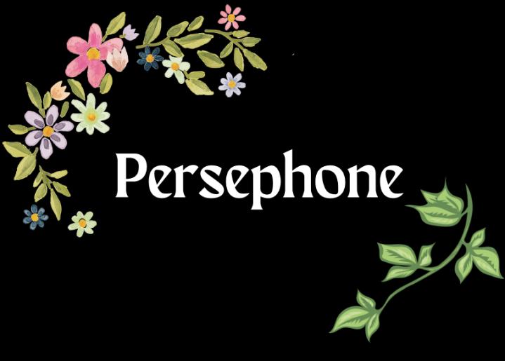Mythology ~ Persephone (andHades)