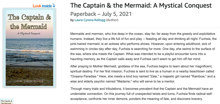 """I wrote a book! ~ """"The Captain & the Mermaid"""" is officiallypublished!"""